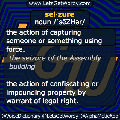 Seizure 10/09/2013 GFX Definition