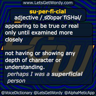 Superficial 10/15/2013 GFX Definition