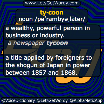 Tycoon 10/21/2013 GFX Definition