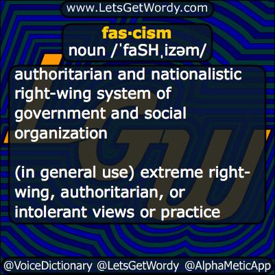 Fascism 10/25/2013 GFX Definition