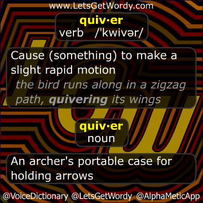 Quiver 11/02/2012 GFX Definition of the Day