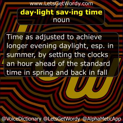 Did 'ya know? GFX (11/04/2012): Daylight Saving Time