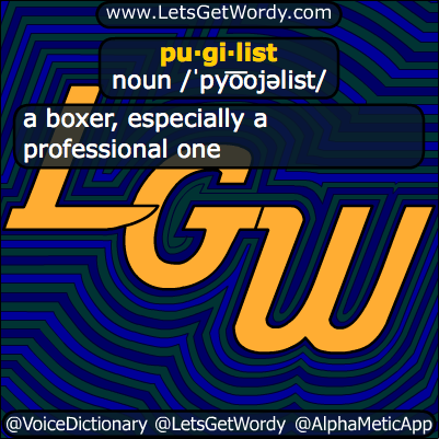 Pugilist 11/05/2013 GFX Definition