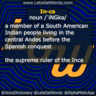 Inca 11/16/2013 GFX Definition