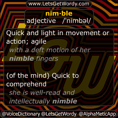 Nimble 11/18/2012 GFX Definition of the Day