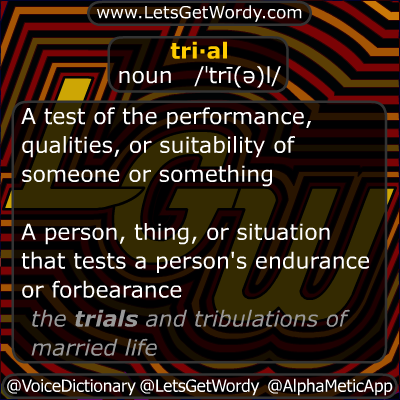 Trial 11/20/2012 GFX Definition of the Day