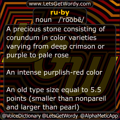 Ruby 11/22/2012 GFX Definition of the Day