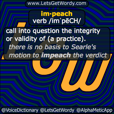 Impeach 12/18/2013 GFX Definition