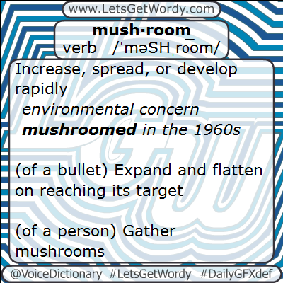 Mushroom 01/31/2013 GFX Definition of the Day