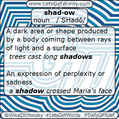Shadow 02/02/2013 GFX Definition of the Day